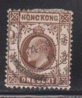 HONG KONG Scott # 86 Used - King Edward VII - Used Stamps