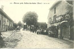 MARNOZ Près Salins-les-Bains (Jura)  - Café Restaurant Courvoisier - Francia