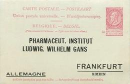 Belgique. CP 29 Xx Repiquée - Stamped Stationery