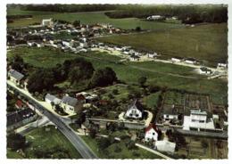 LEVET - Vue Aérienne, Carrefour De St-Amand Et Quartier Nouveau - Circulée 1973 - Bon état - Francia