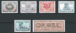 BE   625 - 630    Obl   ---   V ème Orval : Lettrines  --  Peu Courant Dans Cet état - Belgien