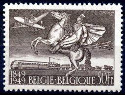 BE   810A    XX   ---    Centenaire 1er Timbre Poste : Postillon, Train Et Avion  --  COB : 55 Euros - Neufs