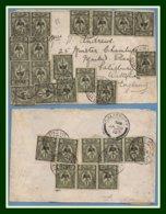 Nouvelle Calédonie N° 88 X 25 / Lettre Spectaculaire Obl Nouméa 1911 > Salisbury Great Britain - Briefe U. Dokumente