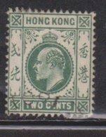 HONG KONG Scott # 87 Used - King Edward VII - Hong Kong (...-1997)
