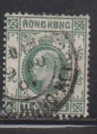 HONG KONG Scott # 87 Used - King Edward VII - Used Stamps