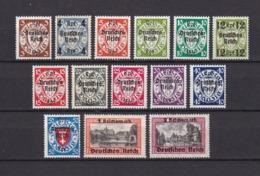 Deutsches Reich - 1939 - Michel Nr. 716/729 - Postfrisch - 220 Euro - Germany