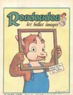 ROUDOUDOU LES PLUS BELLES IMAGES N° 120 AVEC SUPPLEMENT SEPTEMBRE 1960 UN JEUDI ROUDOUDOU UN JEUDI RIQUIQUI AQUARELLE - Livres, BD, Revues