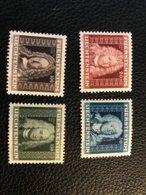 FL 1941 Zumstein-Nr. 162-165 ** Postfrisch - Kompletter Satz - Liechtenstein