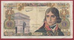 """100  Nouveaux Francs """"Bonarparte"""" Du 05/10/1961.M-----VG/TTB--ALPH. Y.138 - 100 NF 1959-1964 ''Bonaparte''"""