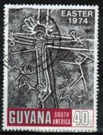 Guyana 1974 Single 40c Stamp From The Easter Set. - Guyana (1966-...)