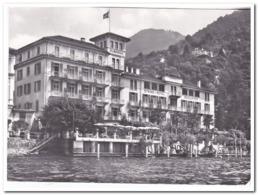 Lugano-Lido, Strandhotel Seegarten ( Folded Corner At The Top Right ) - TI Ticino