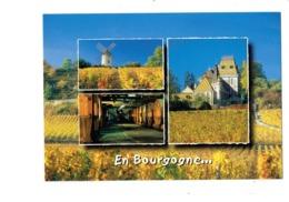 Cpm - 21 - COTE D'OR - SANTENAY - Le Moulin - ALOXE CORTON - Tonneau - M.G. - Other Municipalities