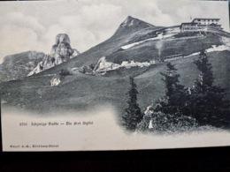 CARTE POSTALE _ CPA VINTAGE : SUISSE _ SCHYNIGE PLATTE _ Die Drei Gipfel      // CPA.EU.250.09 - BE Berne
