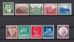 Deutsches Reich - 1941 - Sammlung - Postfrisch - 35 Euro - Germany