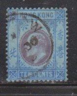 HONG KONG Scott # 94 Used - King Edward VII - Used Stamps