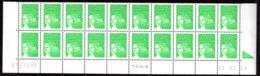 Col12  France Bas De Feuille Coin Daté N° 3535A 3427 Luquet  01 03 04  Neuf XX MNH Luxe - 2000-2009