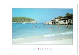 Cpm - Mallorca - S'Amarador - Cala Montdrago - 4025 - Dessin Coquillage Escargot De Mer - Baigneurs - Mallorca