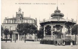 ALFORTVILLE - La Mairie Et Le Kiosque A Musique    (116225) - Alfortville