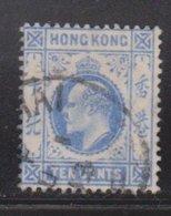 HONG KONG Scott # 95 Used - King Edward VII - Used Stamps