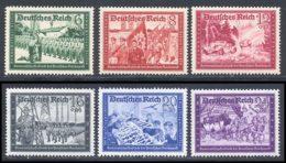 Allemagne Empire 1941 Yvert 697 / 702 ** TB - Ungebraucht