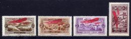 Grand Liban PA 1926 Yvert 13 / 16 * TB Charniere(s) - Gross-Libanon (1924-1945)
