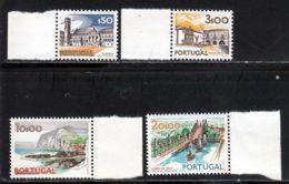 Portugal 1972 Yvert 1136 - 1139 / 1141 ** TB - Neufs
