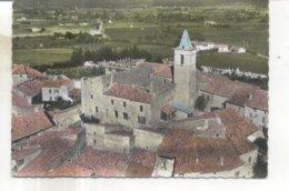 En Avion Au Dessus De 10. Tulette, L'Eglise Et L'ancien Prieure - Autres Communes