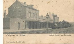 AN 864 /  C P A   - BELGIQUE -  ENVIRONS DE VIRTON  STATION FRONTIERE DE LAMORTEAU - Unclassified