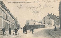 AN 867 /  C P A   - LUXEMBOURG - ARLON  RUE LEON  CASTILHON ET RUE DE VIRTON - Belgique