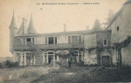 AN 888 /  C P A   - ST CLAUD-SUR-LE-SON (16) CHATEAU ASTIER - France
