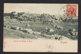 16705 Agrigento - Rovine Del Tempio Di Giove F - Agrigento