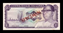 Gambia 1 Dalasi 1972-1986 Pick 4 Specimen Proof SC- AUNC - Gambia