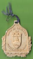 Montemor-o-Novo - Medalha Em Terracota Da Festa Da Cavalaria Em 30 De Julho De 1933 - Tokens & Medals
