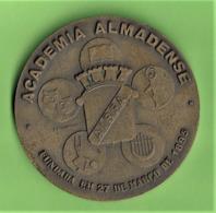 Almada - Medalha Da Academia Almadense De 27 De Outubro De 1978 - Tokens & Medals
