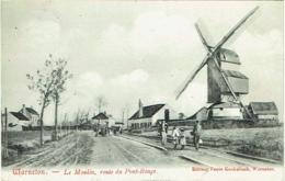 Warneton. Moulin, Route Du Pont Rouge. Molen. - Comines-Warneton - Komen-Waasten