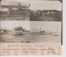 GRAND PRIX AVIATION D'ANJOU BIPLAN H FARMAN MONOPLAN MORANE ZEUS BLERIOT 18*13CM Maurice-Louis BRANGER PARÍS (1874-1950) - Aviación
