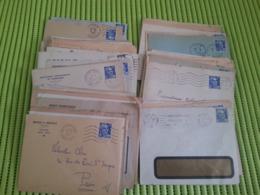 LOT N° E 801  Un Lot D'une Centaine D'enveloppes Avec Publicités - Collections (en Albums)