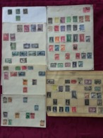 TURKEY 1881-1951 89 STAMPS FROM OLD ALBUM PAGES- UNCHECKED - 1858-1921 Osmanisches Reich