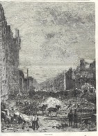 GRAVURE 1877....PARIS Démoli - Estampes & Gravures