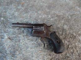 Pistolet à Broche/Petit Mdle/De Fabrication Belge Probable/Non Fonctionnel - Armes Neutralisées