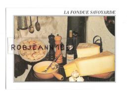 Recettes - Cuisine - Gastronomie Francaise ( La Fondue Savoyarde ) - Küchenrezepte