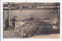 CP 51 LES EMEUTES EN CHAMPAGNE Le Constat Sur Les Ruines Fumantes Maison Deutz Et Geldermann - France