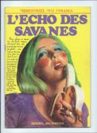 L'Echo Des Savanes N°12 TB BD Lob  Petillon. Mandryka. Kurtzman  Epistolier Moebius Lesueur 2 Scans - French