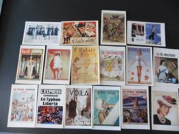 LOT  DE  16   CARTES  POSTALES   DE   ANCIENS  JOURNAUX - 5 - 99 Cartes