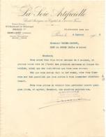 Vieux Papier - Paris - 75 - La Soie Artificielle - Société Anonyme - Janvier 1905 - France