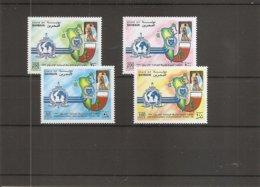 Police - Interpol ( 582/585 XXX -MNH- De Bahrein) - Police - Gendarmerie