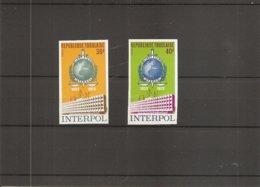 Police - Interpol ( 785/786 Non Dentelés XXX -MNH- Du Togo) - Polizei - Gendarmerie