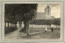 CPA - ANCY-le-FRANC (78) - Aspect De La Place De L'Eglise En 1918 - Frankreich