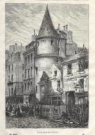 GRAVURE 1877....PARIS..Tour De Saint Martin Des Champs - Estampes & Gravures