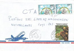 Cameroon Cameroun 2001 Dschang Coffee Beans Independence Monument Cover - Kameroen (1960-...)